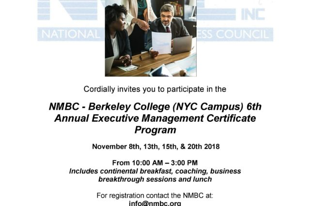 6th Annual Executive Management Certificate Program
